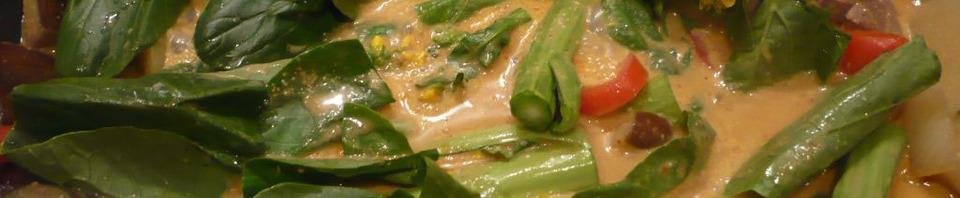 curry panang de boeuf et légumes asiatiques