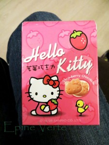 Chocolat à la fraise Hello Kitty