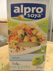 Tofu bio Alpro Soja