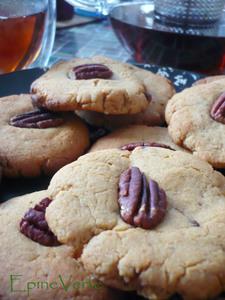 Cookies au beurre de cacahuète et sucre brun