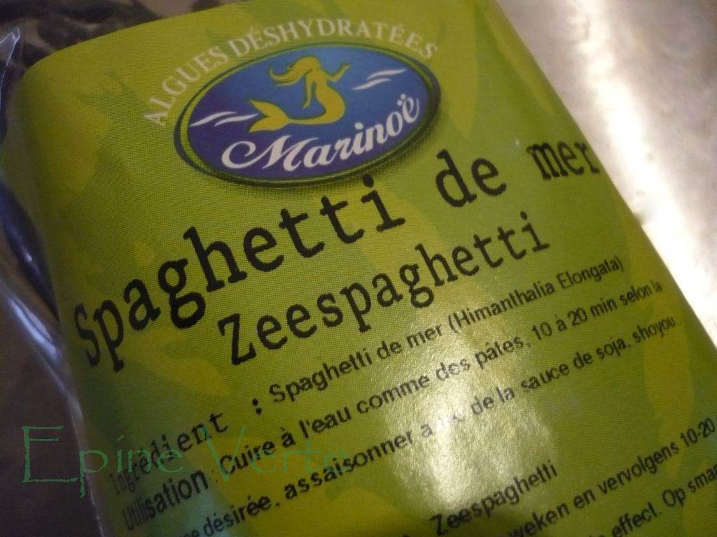 Spaghetti de la mer