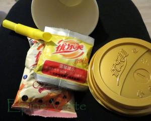 Bubble tea (thé aux perles) en kit!