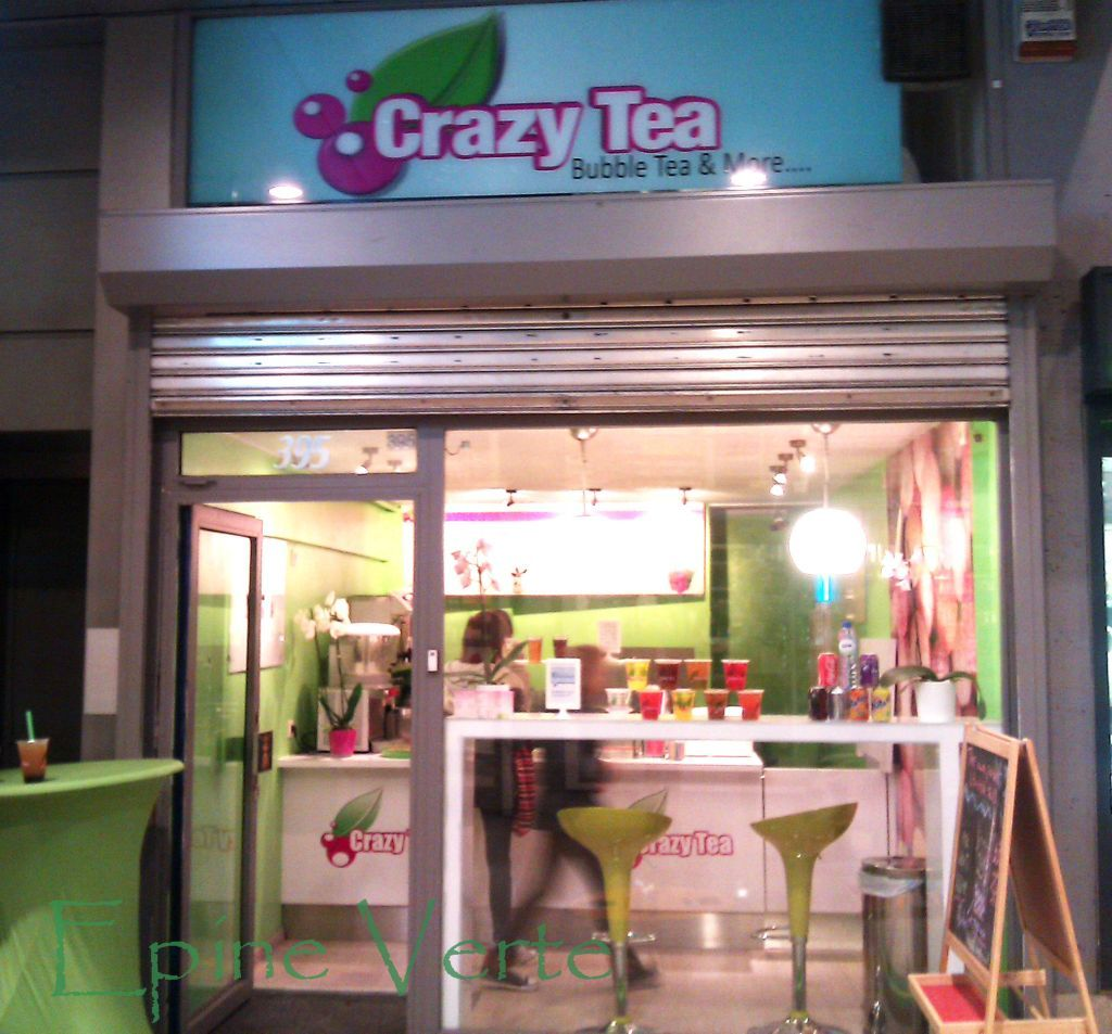 Crazy Tea à Ixelles