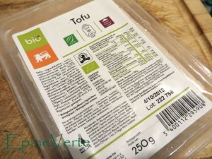Tofu bio Alpro Soya