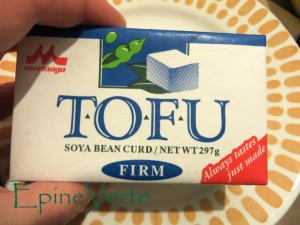 Tofu japonais