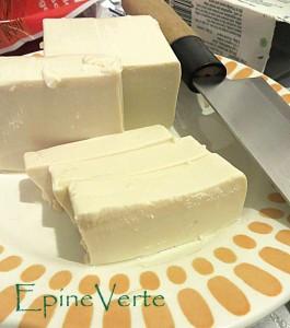 Texture du tofu japonais