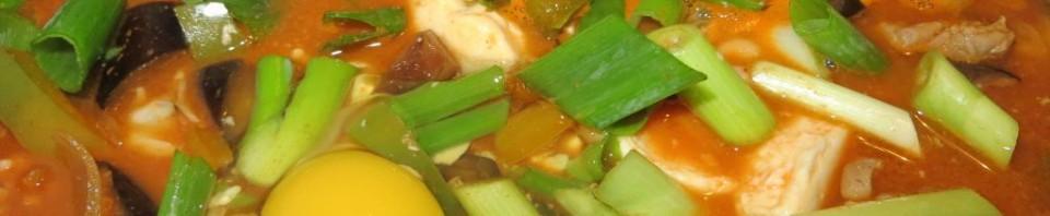 "Hot pot coréen ""terre et mer"""