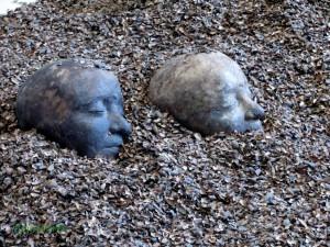 Sculptures délicates en chocolat