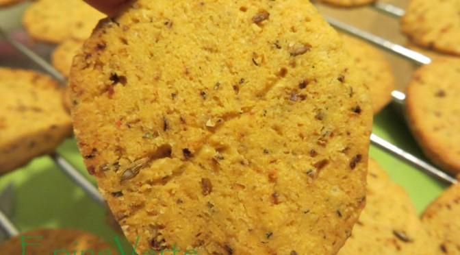 Biscuits aux épices un peu piquants