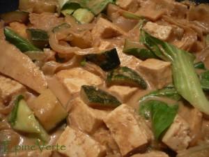 Curry végétarien au Bok choi