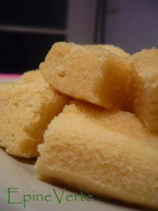 Gâteau moelleux cuit vapeur